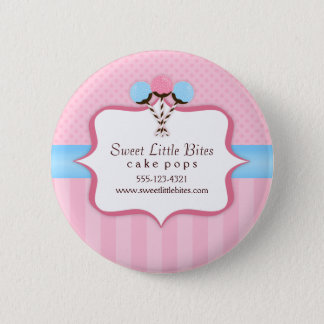 Trendy Cake Pop Bakery 6 Cm Round Badge