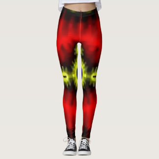 Trendy Carnival Acid Psychedelia Leggings