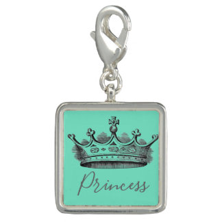 Trendy Charm Bracelet Vintage Princess
