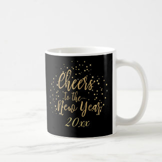 Trendy Cheers to the New Year Coffee Mug