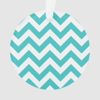 Trendy Chevron Acrylic Ornament