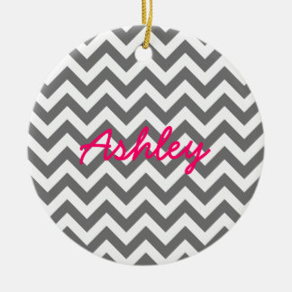 Trendy Chevron Ornament