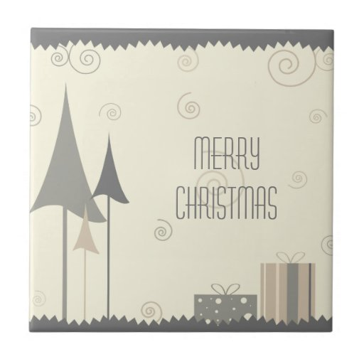 trendy Christmas Ceramic Tiles