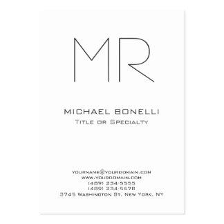 Trendy chubby size custom made business card