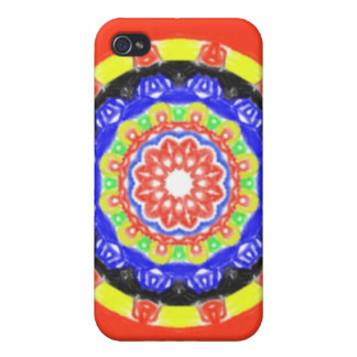 Trendy circle pattern case for the iPhone 4