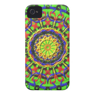 Trendy Circle pattern Case-Mate iPhone 4 Case