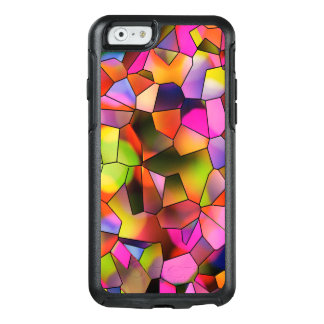 Trendy Color Abstract Art Stained Glass OtterBox iPhone 6/6s Case