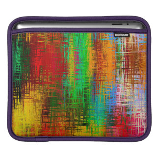Trendy Colorful Abstract Art iPad Sleeve