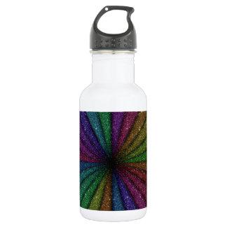 Trendy Colorful Glitter Explosion 532 Ml Water Bottle