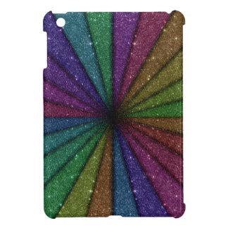 Trendy Colorful Glitter Explosion iPad Mini Covers