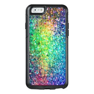 Trendy Colorful Glitter Print OtterBox iPhone 6/6s Case