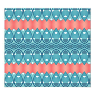 Trendy colorful pattern photo art