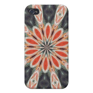 Trendy colorful pern iPhone 4 case
