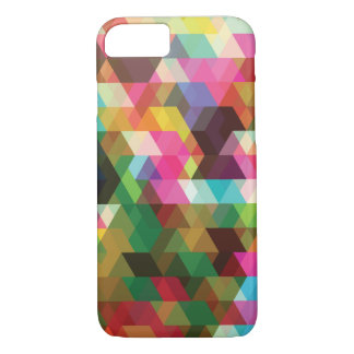 Trendy Colorful Polygon Shapes iPhone 7 Case