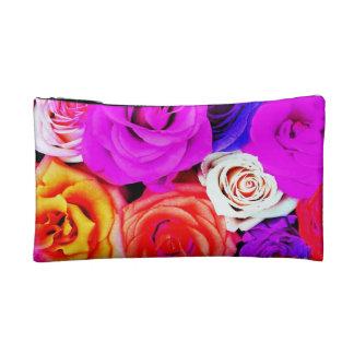 Trendy colorful roses Bagettes Bag