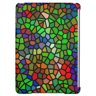 Trendy Colorful stained glass iPad Air Cover