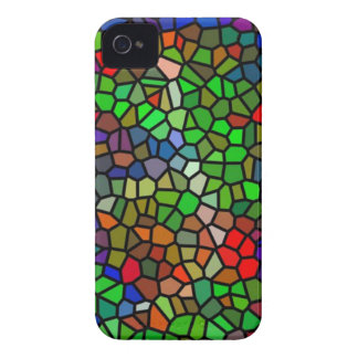 Trendy Colorful stained glass iPhone 4 Case-Mate Case
