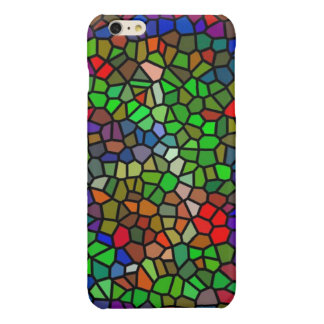 Trendy Colorful stained glass iPhone 6 Plus Case