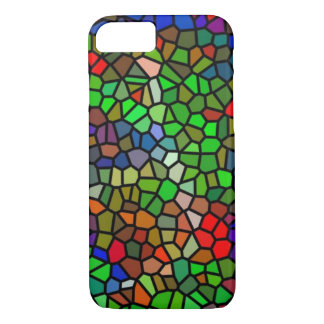 Trendy Colorful stained glass iPhone 8/7 Case