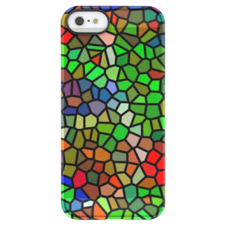 Trendy Colorful stained glass Permafrost® iPhone SE/5/5s Case