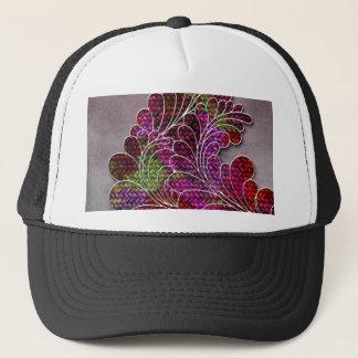 Trendy Colorful Swirly Pattern Trucker Hat