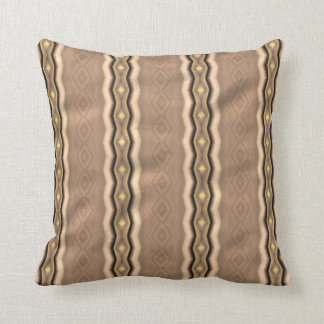 Trendy colorful vertical pattern cushion