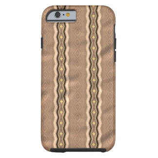 Trendy colorful vertical pattern tough iPhone 6 case