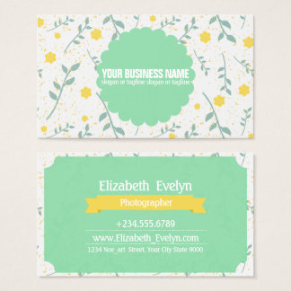 Trendy Colourful 0001 Business Card