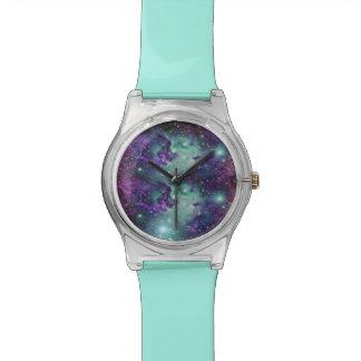 Trendy Cool Sparkly New Nebula Design Watch