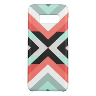 Trendy Coral & Mint Geometrical Pattern Case-Mate Samsung Galaxy S8 Case