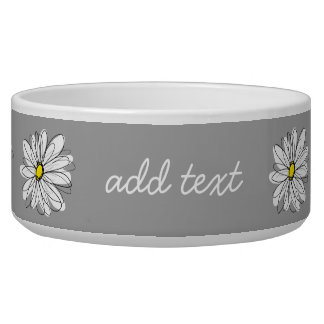 Trendy Daisy with gray and yellow