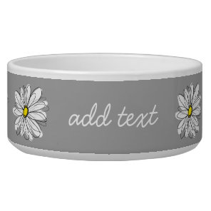 Trendy Daisy with grey and yellow
