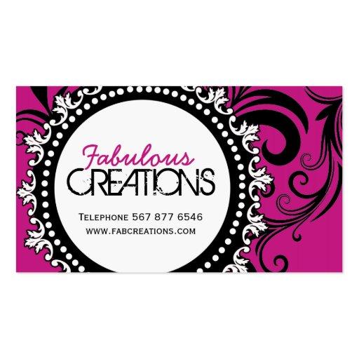 TRENDY DESIGNER BUSINESS CARDS