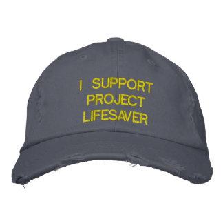 Trendy Distressed Project Lifesaver Hat Baseball Cap