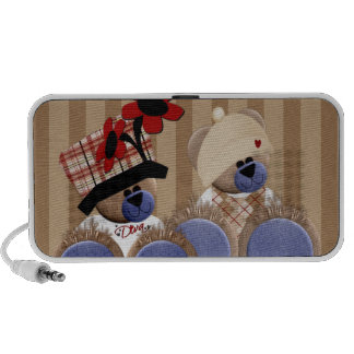 Trendy Diva Teddy Bears Speaker