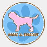 Trendy Dogue de Bordeaux Stickers