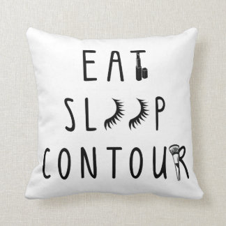 trendy eat sleep contour classy pillow cushions