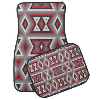 Trendy Ethnic American Native Indian Tribe Pattern Floor Mat