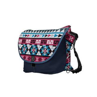 Trendy Ethnic Aztec Geometric Pattern Commuter Bags