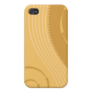 Trendy Floral Decor  Case For The iPhone 4
