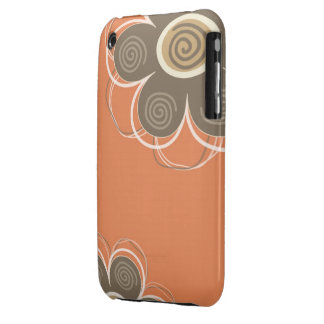 Trendy Floral Decor iPhone 3G   3GS Case-Mate iPhone 3 Covers