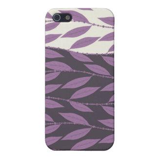 Trendy Floral Decor iPhone 4 Case