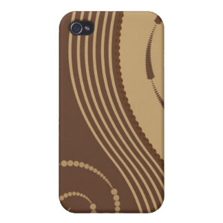 Trendy Floral Decor  iPhone 4 Covers