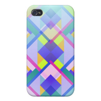 Trendy Geometric Patterns iPhone 4/4S Case