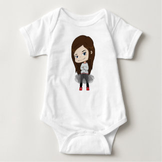 Trendy girl - Baby Bodysuit - Family matching