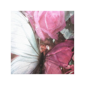 "Trendy girly burtafly canvas 12x12"", 1.5"", Single"