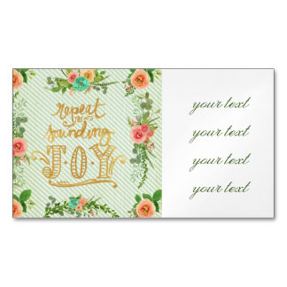 trendy,girly,country,chrismas,pattern,shabby,chic, magnetic business cards