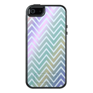 Trendy Glossy Zigzag Pattern Design OtterBox iPhone 5/5s/SE Case