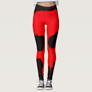 Trendy Gothic Skull Sport Leggings