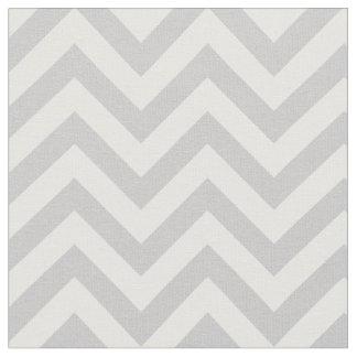 Trendy Gray Chevron Pattern Fabric